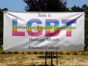 June, the Month of Supporting Gay and Lesbian Rights